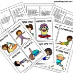 Ocean Themed Yoga For Kids ⋆ Parenting Chaos | Printable Yoga Cards For Kids