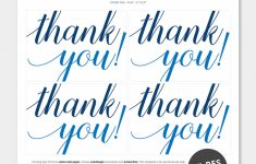 Printable Thank You Cards Pdf