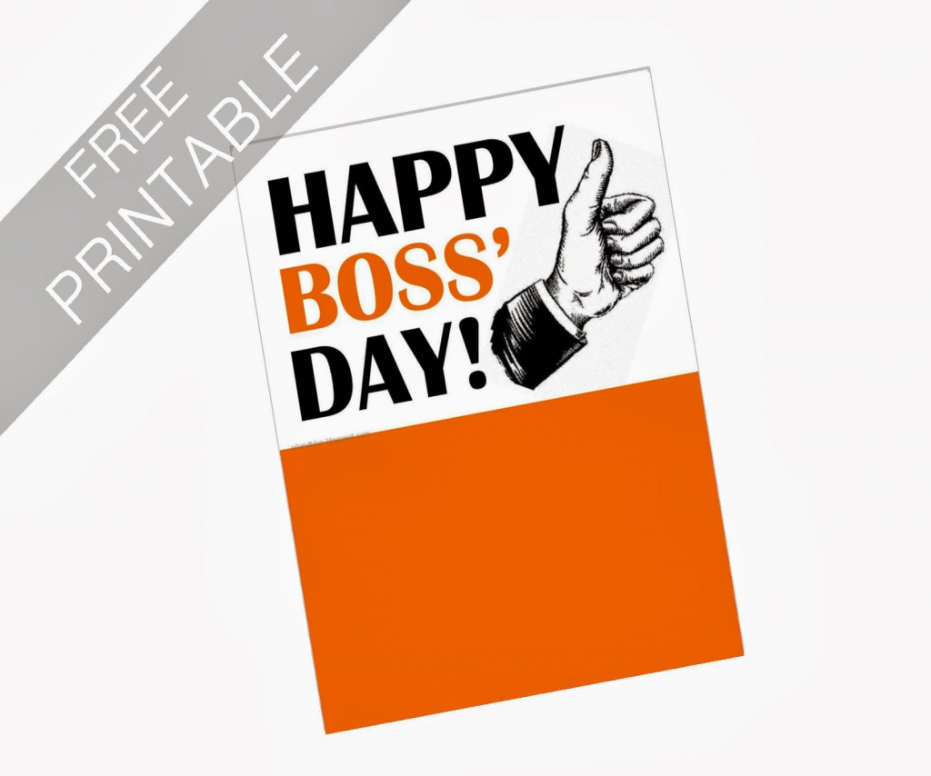 Oil And Blue: Free Printables - Happy Boss' Day Card | Party Ideas | Boss Day Cards Free Printable