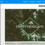 Online Card Maker   Create A Custom Card With Venngage   Free Online Christmas Photo Card Maker Printable