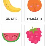"Our Set Of Printable ""fruit & Vegetable Flash Cards"" Are A Great 