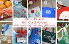 Gift Card Printable Envelope