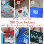 Over 50 Printable Gift Card Holders For The Holidays | Gcg | Printable Gift Card Holder Birthday