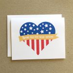 Patriotic Card, Thank You For Your Service, Veterans Day Cards | Military Thank You Cards Printable