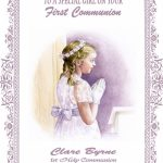 Personalised Girl Communion Card Design 2   1St Communion Cards Printable