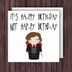 Pin Van Sophie Van Weelden Op Handletteren   Harry Potter Birthday | Harry Potter Birthday Card Printable
