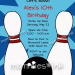 Pinanggunstore On Invitationswww.egreeting Ecards In | Bowling Birthday Cards Printable