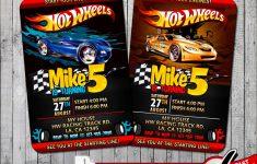 Hot Wheels Birthday Cards Printable