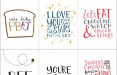 Valentine's Day Card Printable Templates