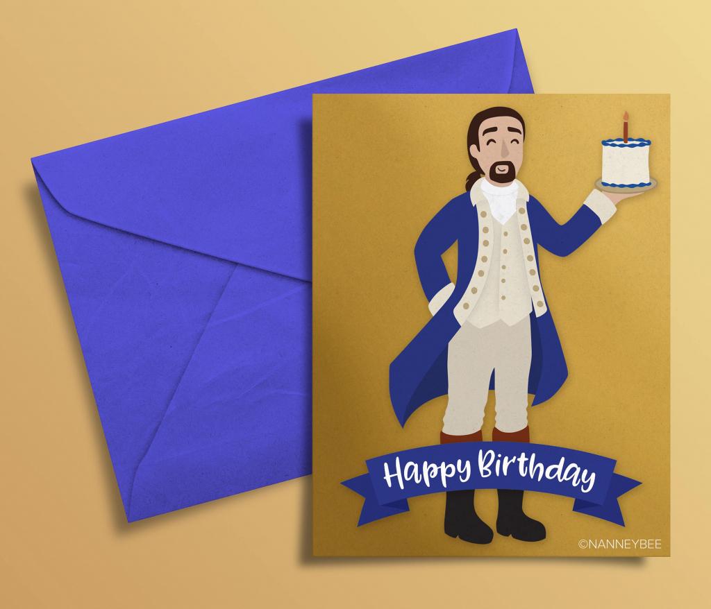 Pinerin Difrancesco On Hamilton In 2019 | Hamilton Musical | Hamilton Birthday Card Printable