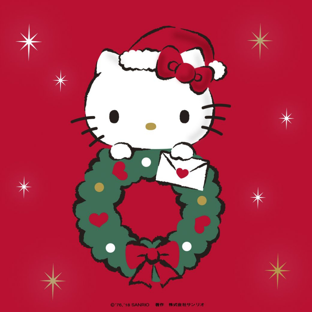 Pin🦋emily👸🏻grace🖤 On Hello Kitty | Pinterest | Hello Kitty | Hello Kitty Christmas Card Printable