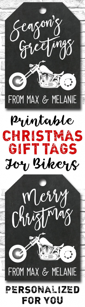 Pinheidi K On Printables | Christmas Gift Tags, Motorcycle Gifts | Printable Harley Davidson Gift Cards