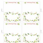 Pinkay Kostrencich On Event Ideas | Christmas Place Cards | Free Printable Place Card Templates Christmas
