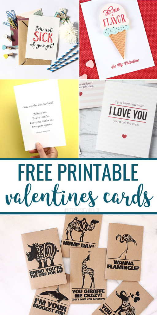 Pinpretty Providence On Pretty Providence Blog | Pinterest | Free Printable Valentine Cards For Husband