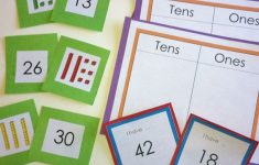 Base Ten Picture Cards Printable