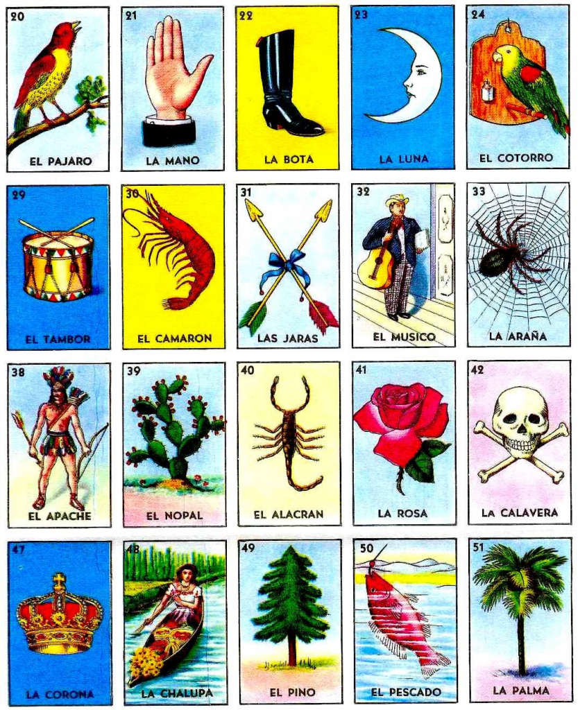 Played Loteria With The Kids In Guatemala. | Loteria In 2019 | Printable Loteria Game Cards