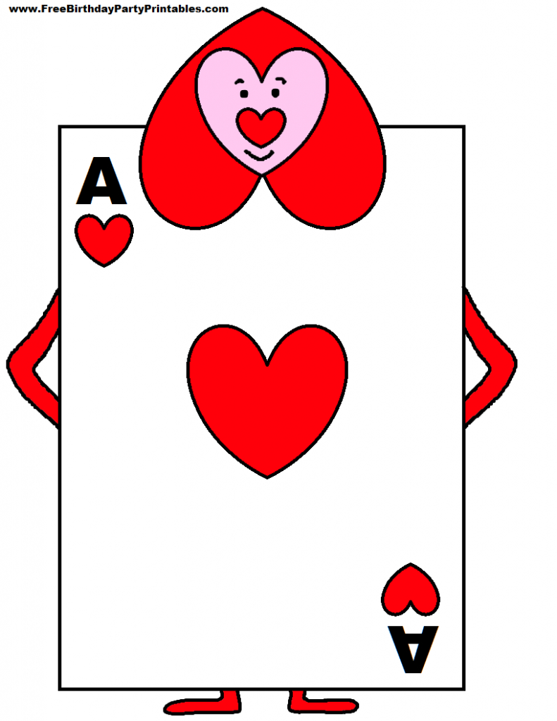 Playing Card Soldiers From Alice In Wonderland - Yahoo Image Search | Alice In Wonderland Printable Playing Cards
