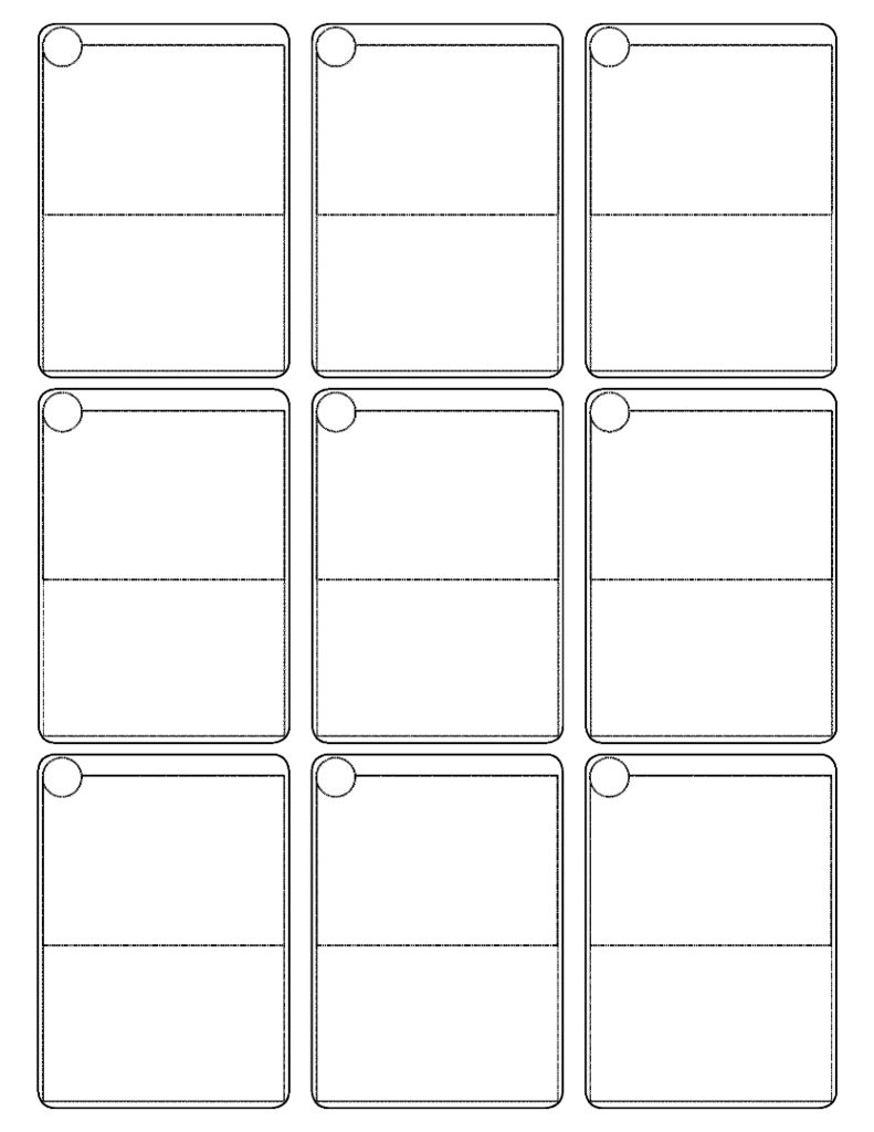 Pokemon Cards Template | Blank Pokemon Card Printable