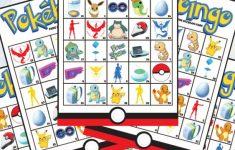 Pokemon Bingo Cards Printable
