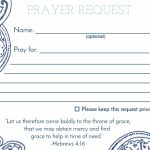 Prayer Request Card … | Mops | Praye… | Prayer Request Cards Printable
