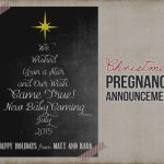 Pregnancy Announcement Card Template   Under.bergdorfbib.co | Free Printable Pregnancy Announcement Cards
