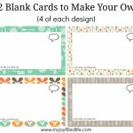 Print Your Own Cards   Canas.bergdorfbib.co | Make Your Own Printable Card