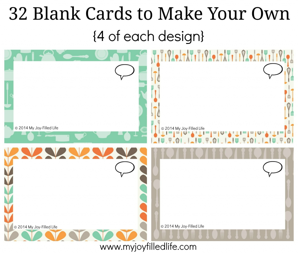 Print Your Own Cards - Canas.bergdorfbib.co | Make Your Own Printable Card