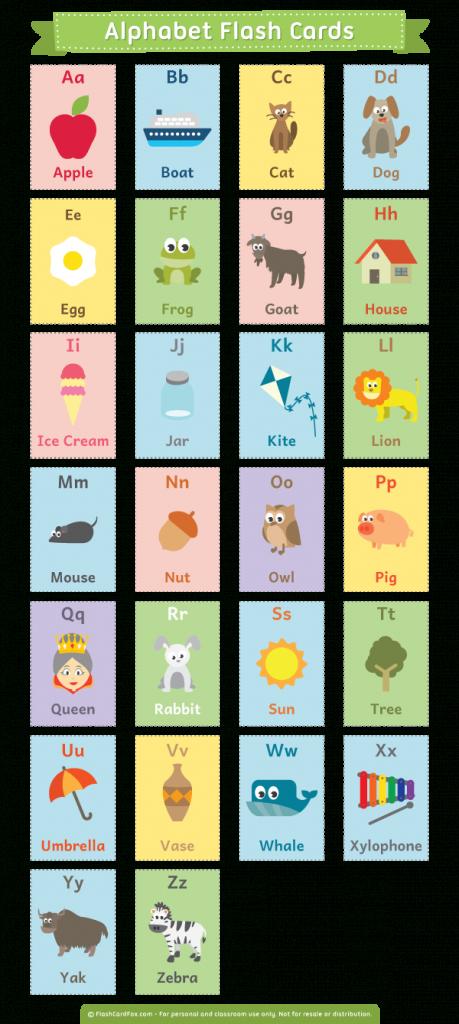 Printable Alphabet Flash Cards | Free Printable Alphabet Flash Cards