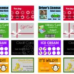 Printable (And Customizable) Play Credit Cards   The Crazy Craft Lady | Printable Credit Cards Accepted Sign