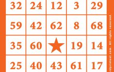 Printable Bingo Cards 1-90 – Bingocardprintout | Free Printable Bingo Cards With Numbers