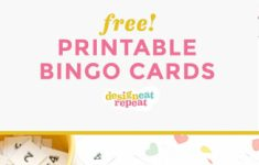Printable Bingo Cards 1 75