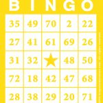 Printable Bingo Cards With Numbers   Bingocardprintout | Printable Number Bingo Cards