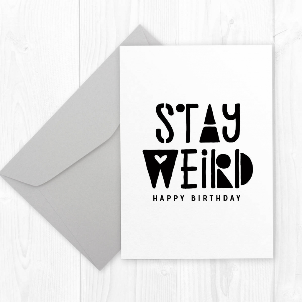 Printable Birthday Card For Boyfriend Or Best Friend Stay | Etsy | Printable Birthday Cards For Him