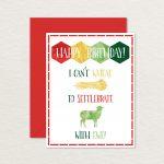 Printable Birthday Card / Settlers Of Catan Card / Printable | Etsy | Nerdy Birthday Cards Printable