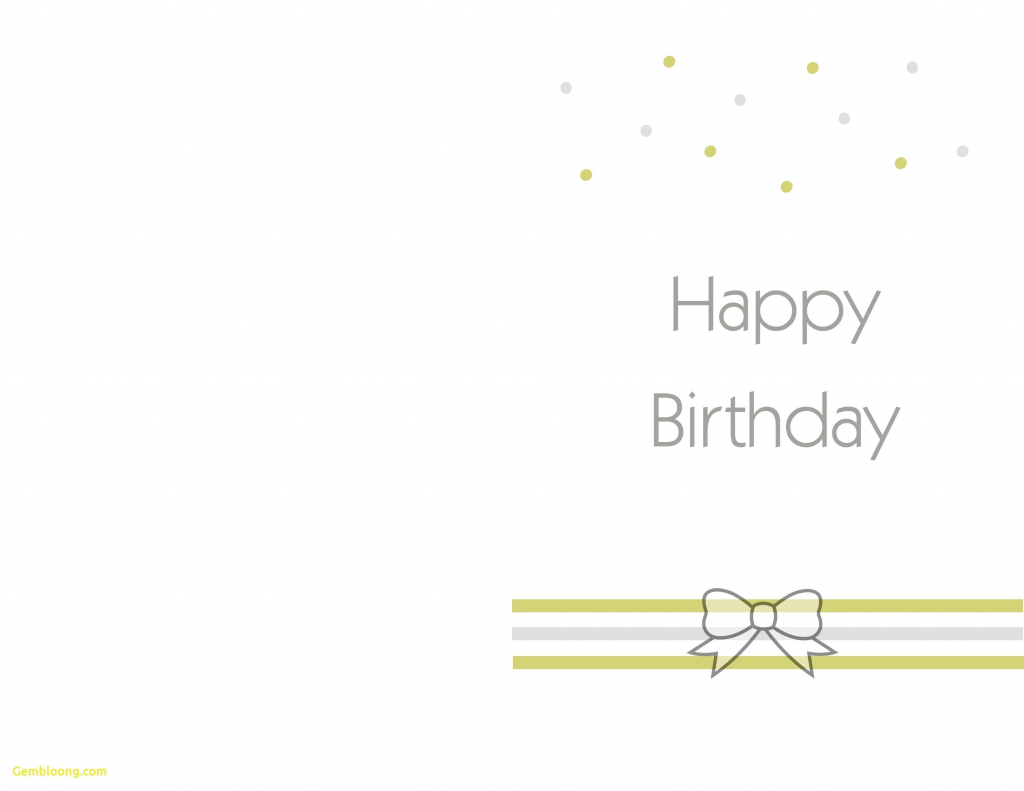 Printable Birthday Cards Foldable | Theveliger | Printable Birthday Cards Foldable