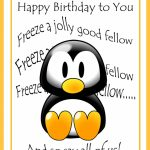 Printable Birthday Cards For Boys   Printable Cards | Happy Birthday From All Of Us Printable Cards
