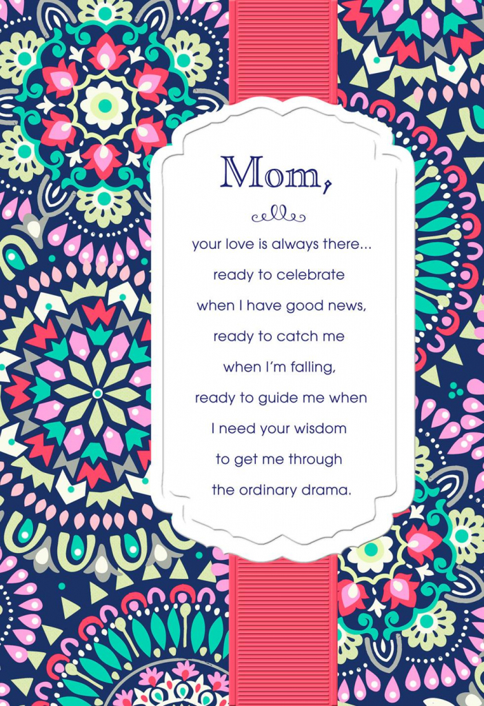 Printable Birthday Cards For Mom - Printable Cards | Printable Birthday Cards For Mom