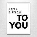 Printable Birthday Cards  Launched! — Modern Southerner | 14Th Birthday Cards Printable