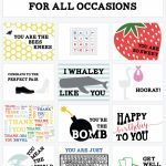 Printable Cards For All Occasions | Random Things I Like | Free Printable Cards For All Occasions