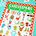 Printable Christmas Bingo Game – Happiness Is Homemade | Kid Christmas Bingo Card Printables