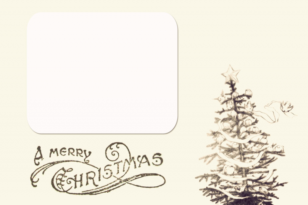 Printable Christmas Card Templates – Happy Holidays! | Free Printable Christmas Card Templates