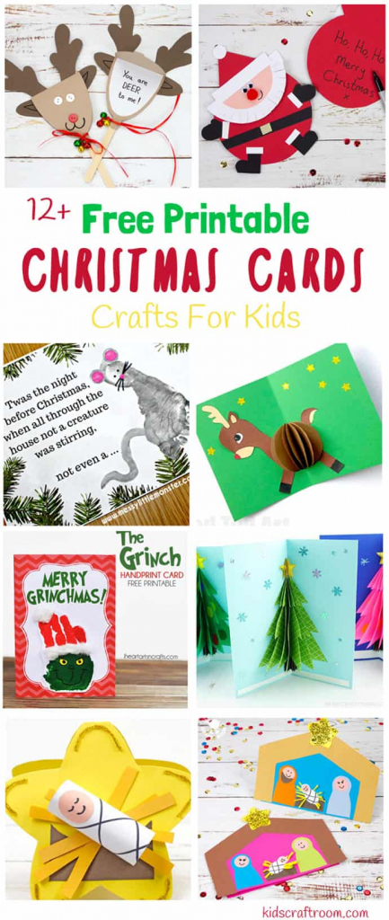 Printable Christmas Cards For Kids - Kids Craft Room | Printable Christmas Cards For Kids
