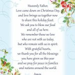 Printable Christmas Dinner Blessing | Holiday Ideas | Christmas | Blue Mountain Printable Christmas Cards