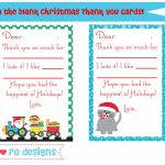 Printable Christmas Thank You Cards – Happy Holidays! | Printable Christmas Thank You Cards