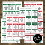 Printable Christmas/winter Themed Taboo Game With 99 Different Cards | Printable Card Games Pdf