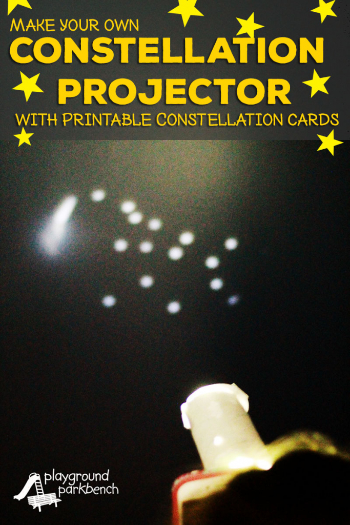 Printable Constellation Projection Cards | Printable Constellation Projection Cards