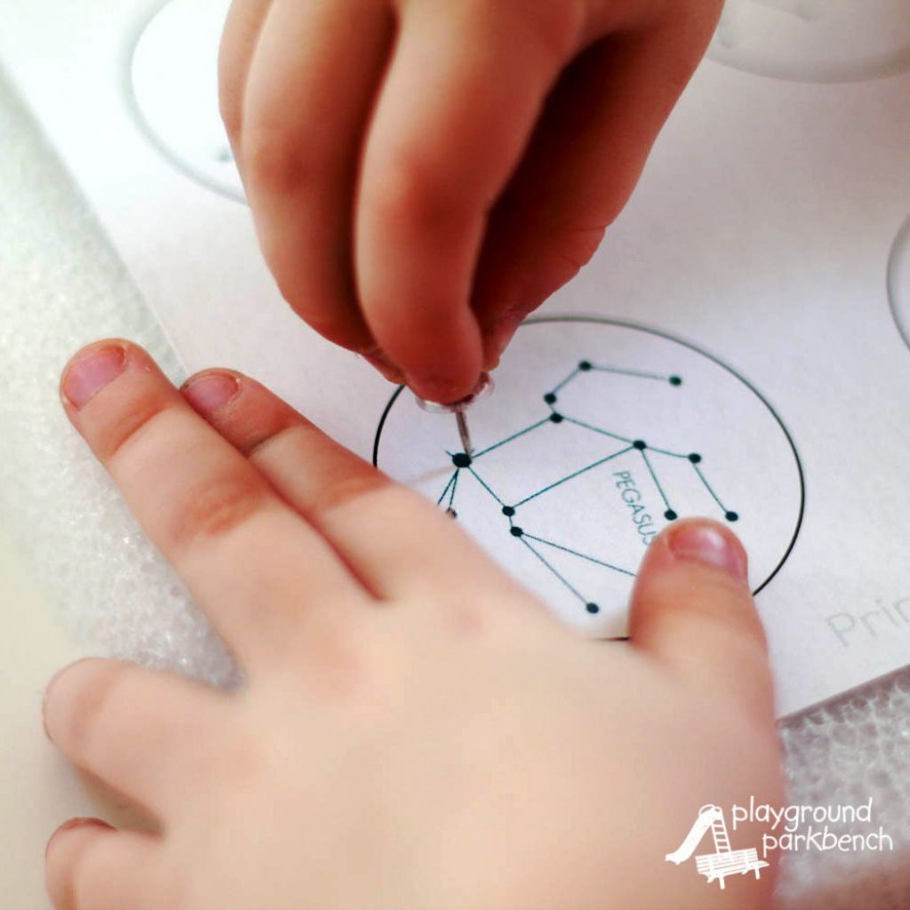 Printable Constellation Projection Cards | Tvorivé Dielne A Nápady | Printable Constellation Projection Cards