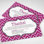 Printable Customizable Jamberry Thank You Card! #jamberry | Jamberry 7 Day Challenge Cards Printable