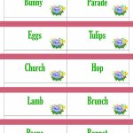 Printable Easter Game Cards For Pictionary, Charades, Hangman And 20 | Printable Win Lose Or Draw Cards