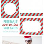 Printable Elf On The Shelf Note Cards | Simple As That Blog | Elf On | Printable Elf On The Shelf Note Cards